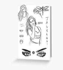 Tarjeta de felicitación Lauren Jauregui