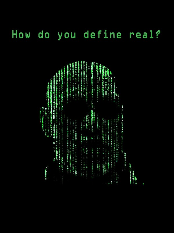 """The Matrix Morpheus Code"" Canvas Prints by Matt Krueger ..."