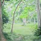 View from Copse of Trees, Ardgillan by Geraldine M Leahy