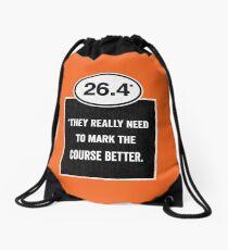 26.4 - Mark the Course Drawstring Bag