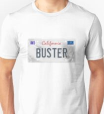 License Plate - BUSTER T-Shirt