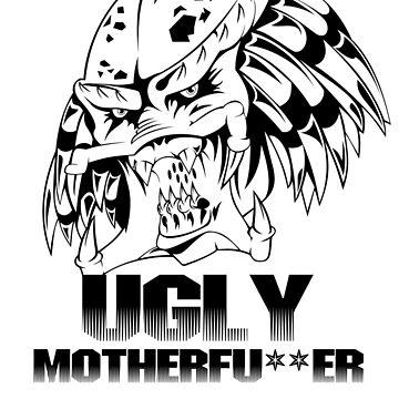 Predator - Ugly Motherfu**er  - Black by dellan666