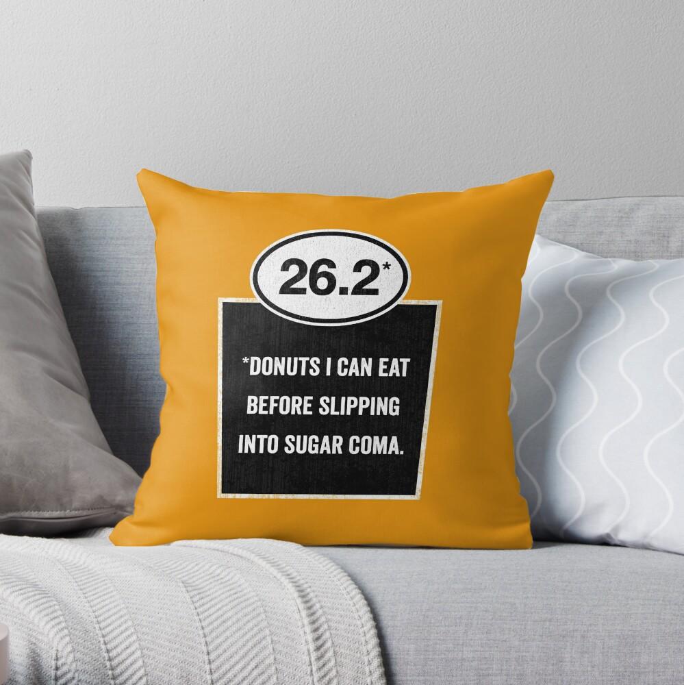 26.2 - Sugar Coma Throw Pillow