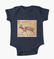 Painted Dog - African Wild Dog One Piece - Short Sleeve