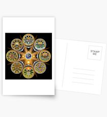 Witches' Wheel of the Year Postcards