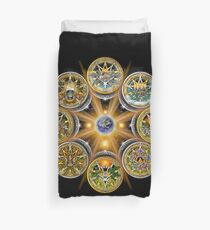Witches' Wheel of the Year Duvet Cover