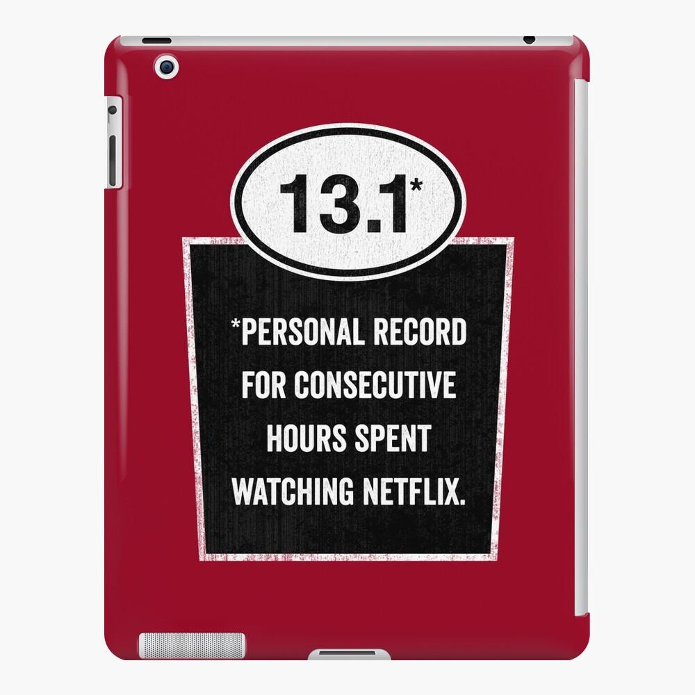13.1 - Binge Watching Record iPad Case & Skin
