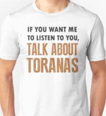 Talk About Toranas Funny Torana Shirt Slim Fit T-Shirt