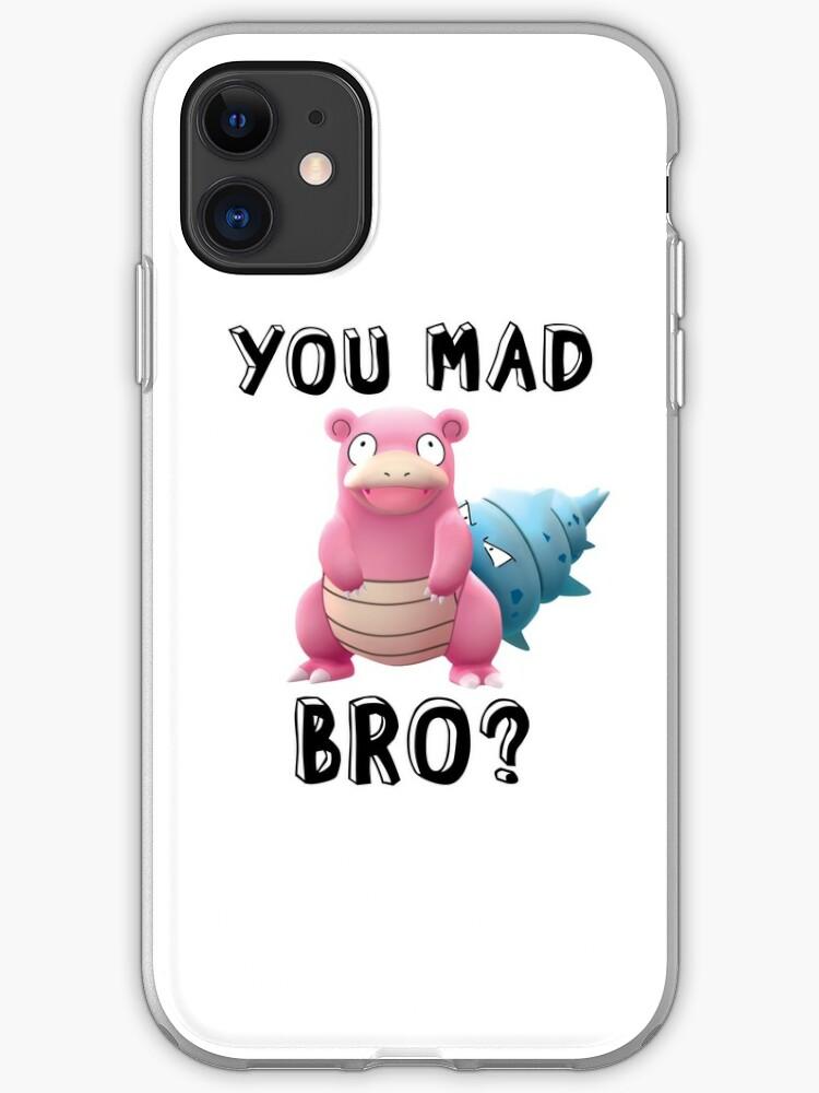 Slowbro Pokemon iphone case