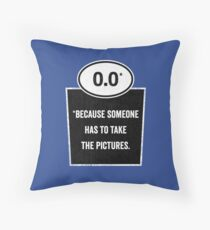 0.0 - Take the Pictures Throw Pillow