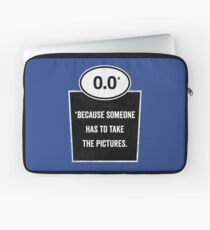 0.0 - Take the Pictures Laptop Sleeve