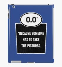 0.0 - Take the Pictures iPad Case/Skin