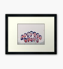 All star all in Framed Print