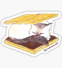 S'meowrs - Cat Sticker Sticker