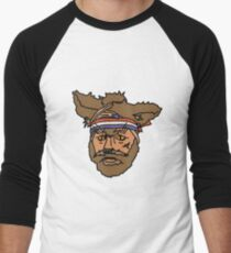 The Mighty Boosh, Crack Fox Men's Baseball ¾ T-Shirt