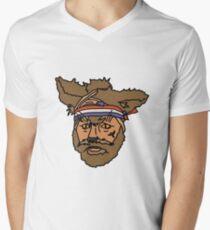 The Mighty Boosh, Crack Fox Men's V-Neck T-Shirt