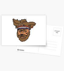 Der mächtige Boosh, Knackfuchs Postkarten
