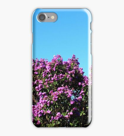 Tibouchina Sky iPhone Case/Skin