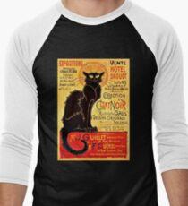 Le Chat Noir, Exposition particulière - 1896 Men's Baseball ¾ T-Shirt
