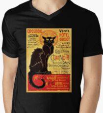 Le Chat Noir, Exposition particulière - 1896 Mens V-Neck T-Shirt