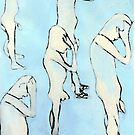 blue nude by H J Field