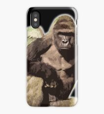 Harambe from above iPhone Case