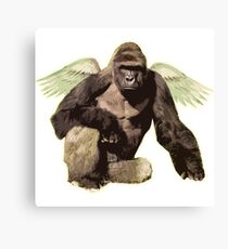 Harambe from above Canvas Print