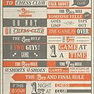 Fight Club x Chess Club by Badga