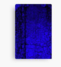 Urban Animal Blue Street leather  Canvas Print