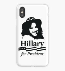 Hillary For President iPhone Case/Skin
