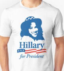 Hillary For President - Red White & Blue T-Shirt