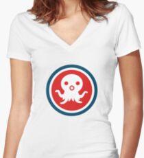 Octonauts Logo Women's Fitted V-Neck T-Shirt