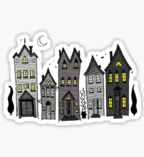 Haunted Houses Sticker