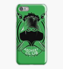 Archery Club iPhone Case/Skin