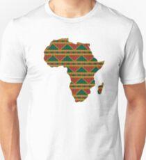 Africa map pattern Africa t-shirt Unisex T-Shirt