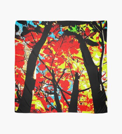 Flame Trees Scarf