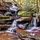 Somersby Lower Falls - Brisbane Water National Park by TonyCrehan