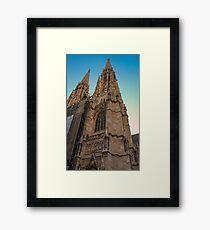 Votivkirche Portrait Framed Print