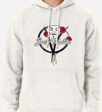 """BRDL """"Scarlet Vendettas"""" Logo - Clothing, Leggings, Bags & MORE Pullover Hoodie"""