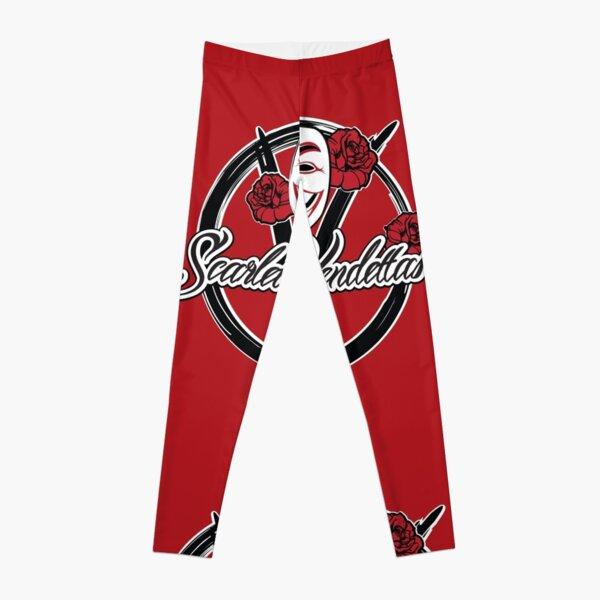 "BRDL ""Scarlet Vendettas"" Logo - Clothing, Leggings, Bags & MORE Leggings"