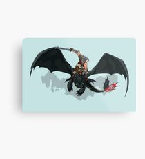 Dragon Rider Metal Print