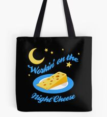 Night Cheese Tote Bag