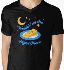 Night Cheese Men's V-Neck T-Shirt