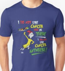 cancer t-shirt 2 Unisex T-Shirt