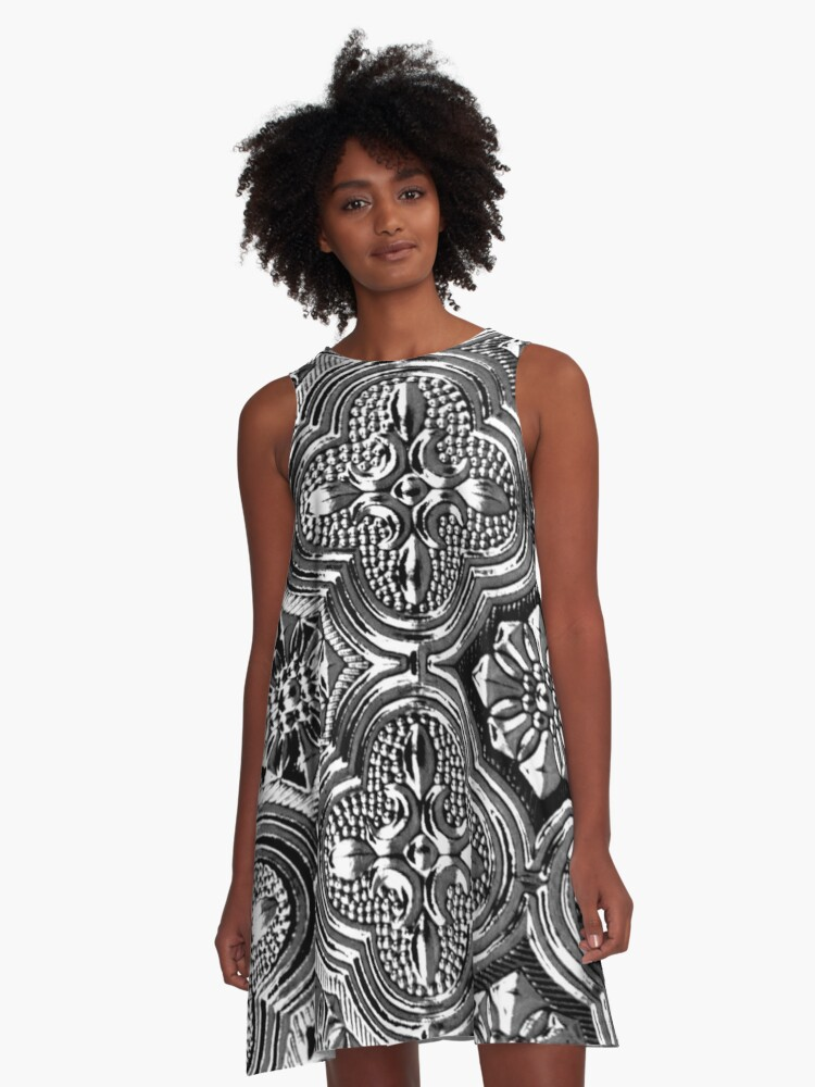 Law of Attraction A-Line Dress Front