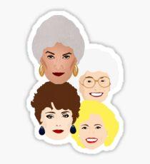 The girls Sticker
