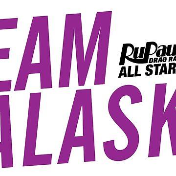 Team Alaska - RuPaul's Drag Race All Stars 2 by ieuanothomas22