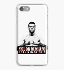 Nate Diaz - Kill or be Killed iPhone Case/Skin