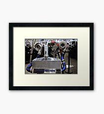 twin turbo setup Framed Print