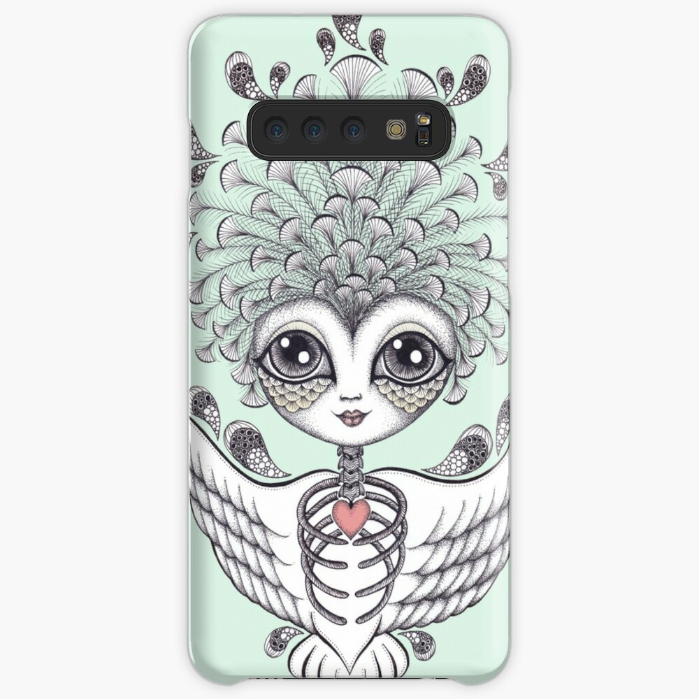 Fly Away my Fair Feather Sweetheart Case & Skin for Samsung Galaxy